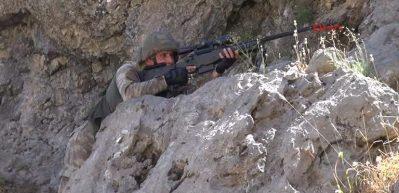 Zap bölgesine büyük operasyon: 21 terörist etkisiz hale getirildi