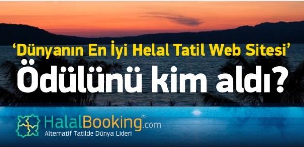 En İyi Helal Tatil Web Sitesi ödülünü aldı