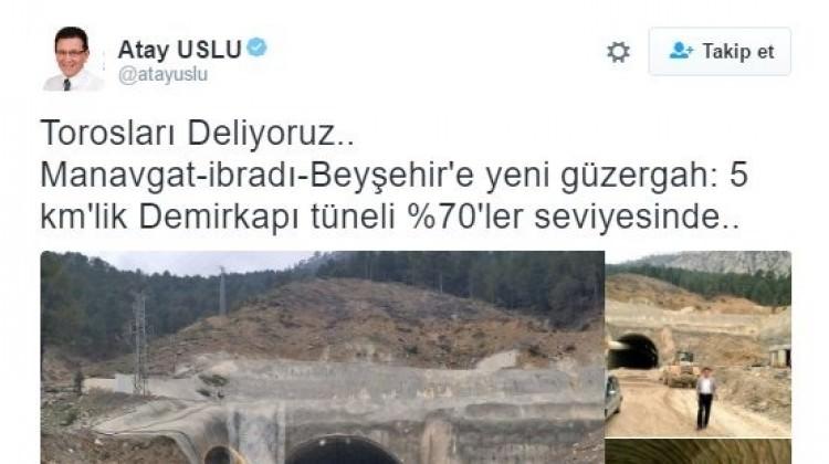 AK Partili vekillerin tünel esprisi