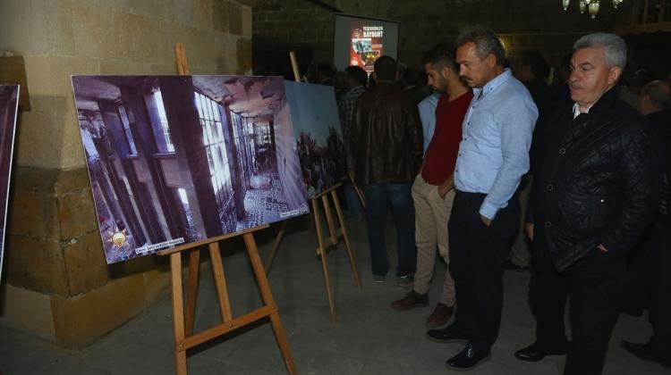 """Bayburt haberleri Bayburt'ta """"15 Temmuz Milli İradenin Yükselişi Fotoğraf Sergisi"""" - 27 Eylül 2016"""