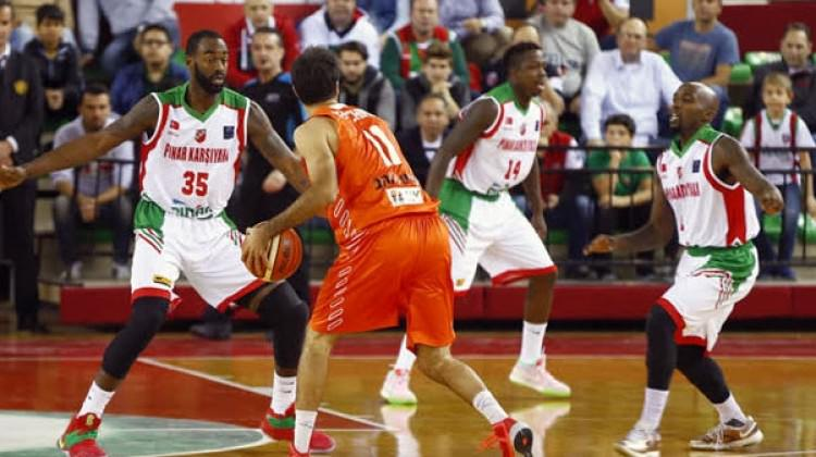 Karşıyaka Maccabi'yi dağıttı