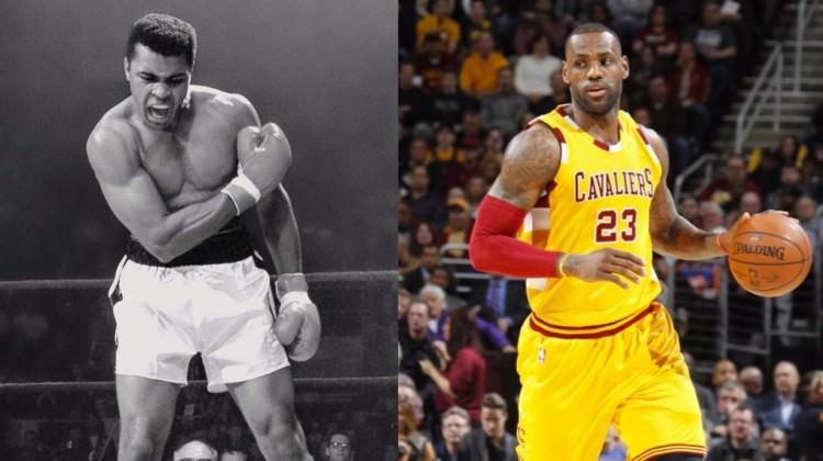 LeBron James'den Muhammed Ali'ye dev vefa!