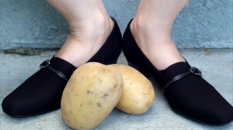 Ayakkabınızın içini patates ile ovarsanız...