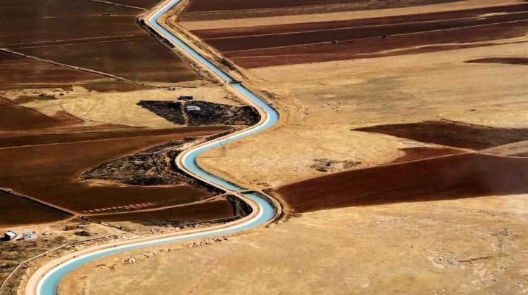221 kilometrelik sulama kanalı tamamlanıyor