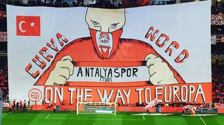 Antalyaspor'dan Avrupa koreografisi!
