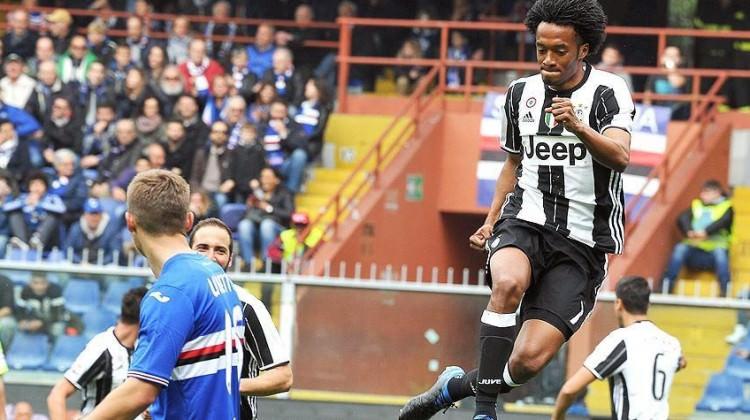 Juventus Sampdoria'yı tek golle geçti