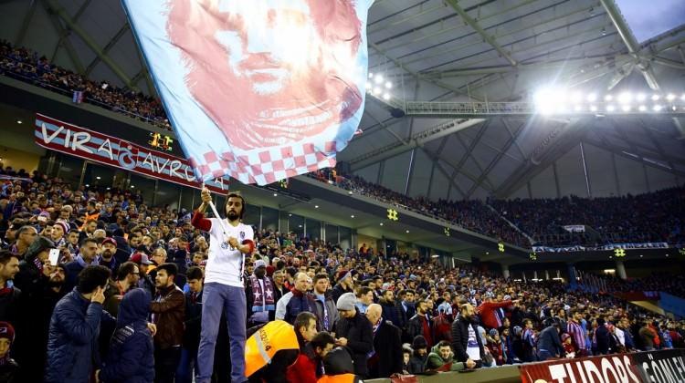 Trabzon'da seyirci rekoru kırıldı!