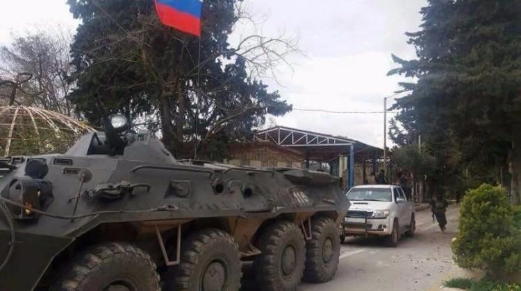 Rusya'dan Afrin'de PKK hamlesi!