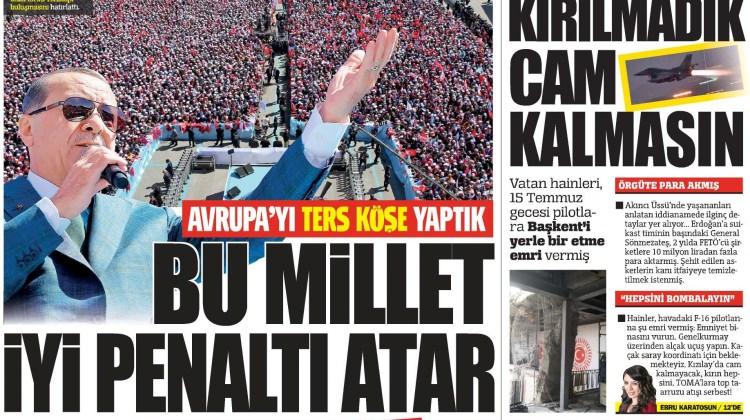 3 Nisan Pazartesi gazete manşetleri