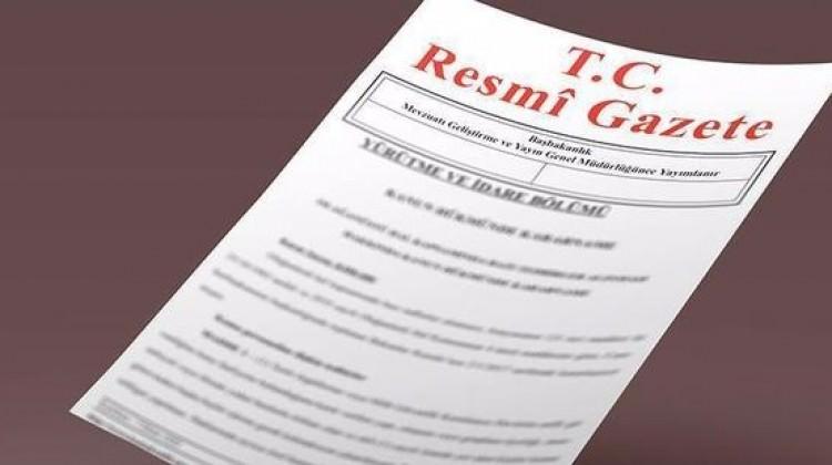 HSK üyeliğine seçme kararları Resmi Gazete'de