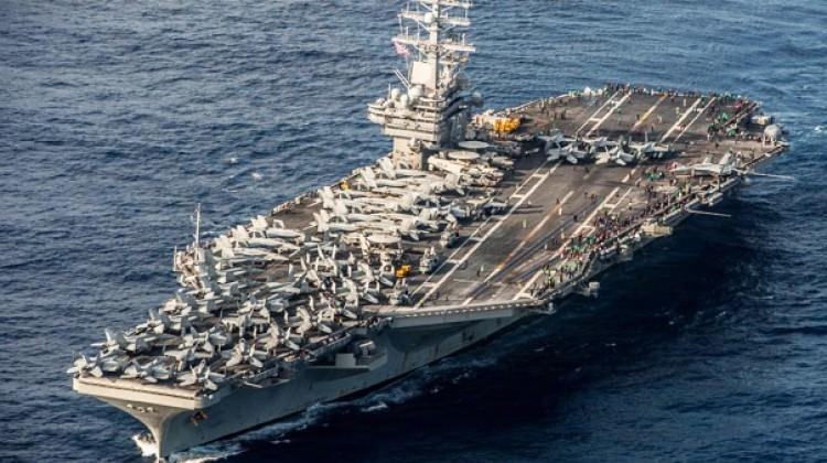 ABD, bir uçak gemisi daha Kore'ye gönderiyor!