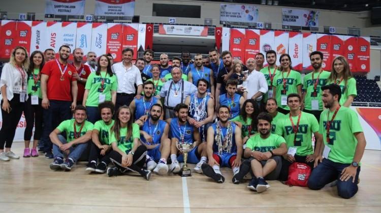 Beykent Üniversitesi Türkiye şampiyonu oldu