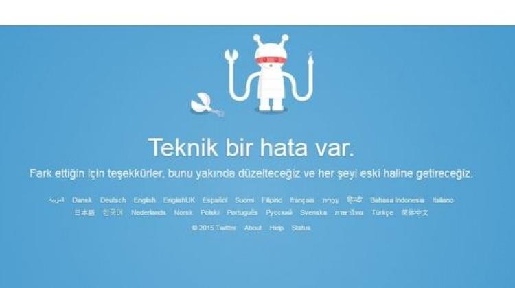 Twitter'da erişim sorunu