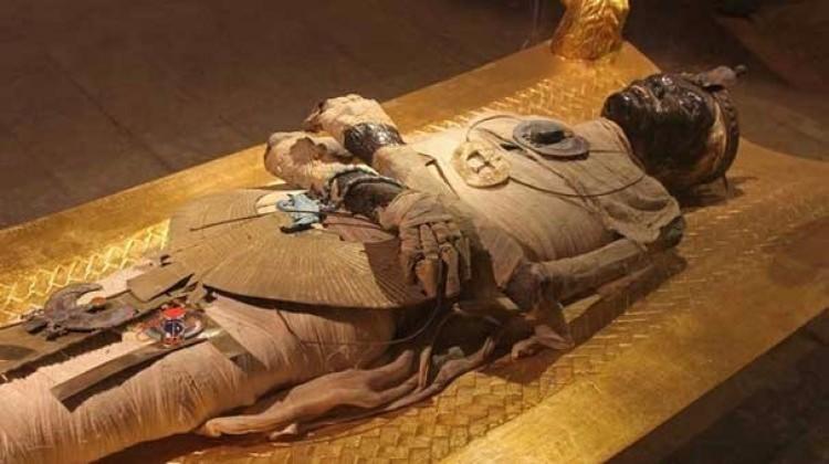 Mısır'daki mumyalarda Anadolu izleri!