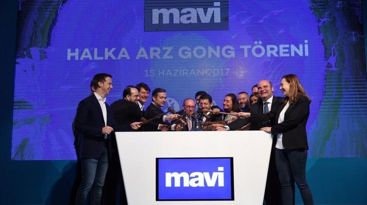 Borsa İstanbul'da gong Mavi için çaldı