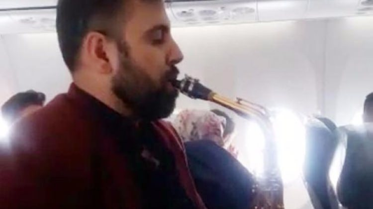 Yüksekova uçağında şaşırtan görüntü!