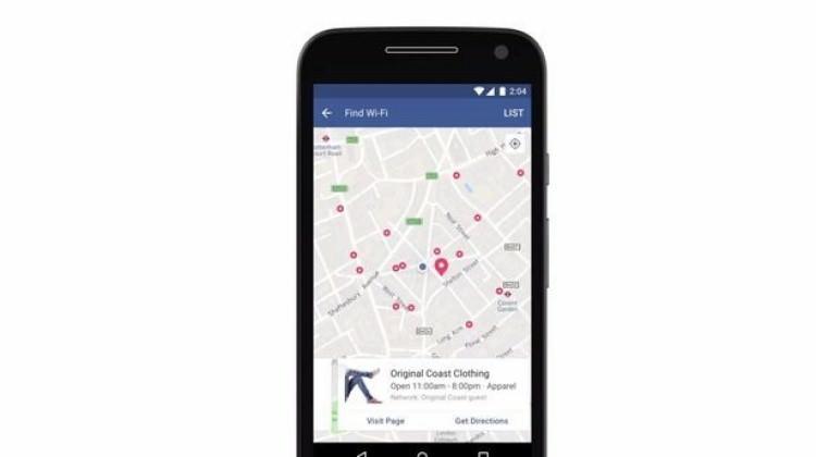 Facebook'tan ücretsiz Wi-Fi
