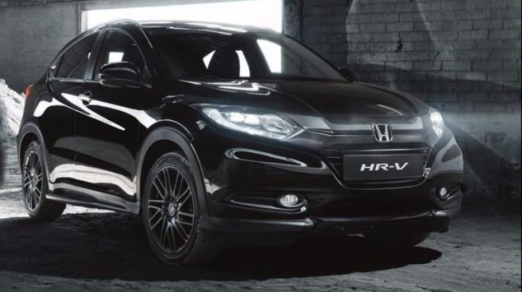 Honda HR-V siyahlara büründü