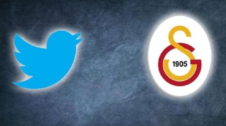 Galatasaray ile Twitter'dan Türkiye'de bir ilk