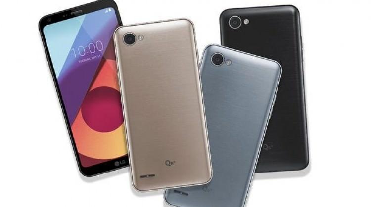 LG G6'nın küçüğü Q6 tanıtıldı