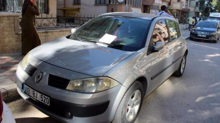 Afyon'da araç sahibine A4'le tehdit