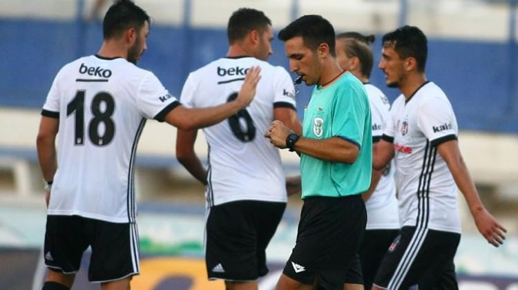 Beşiktaş'ın maçında gol düellosu