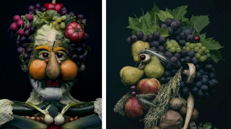 Meyve ve sebzelerden bakın ne yaptı!
