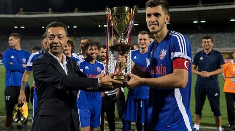 TSYD kupası Kardemir Karabükspor'un