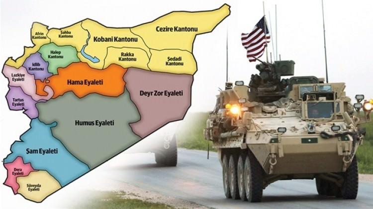 ABD imzalı korsan devlet haritası