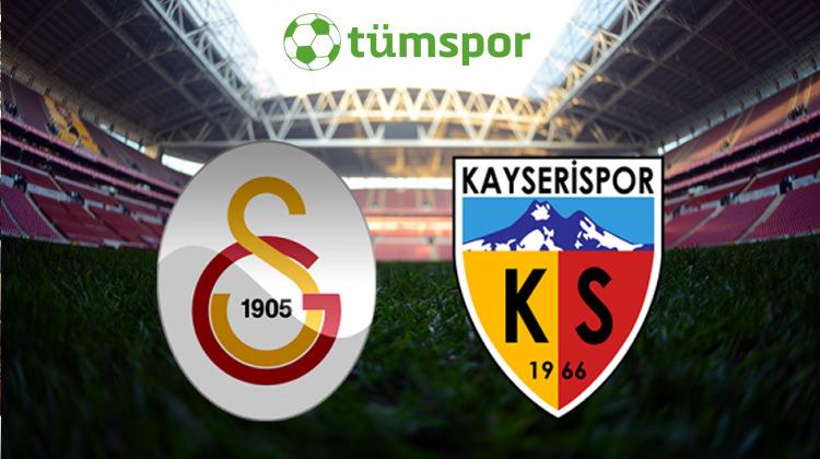 Galatasaray Kayserispor maçı hangi gün tam saat kaçta (1.hafta)