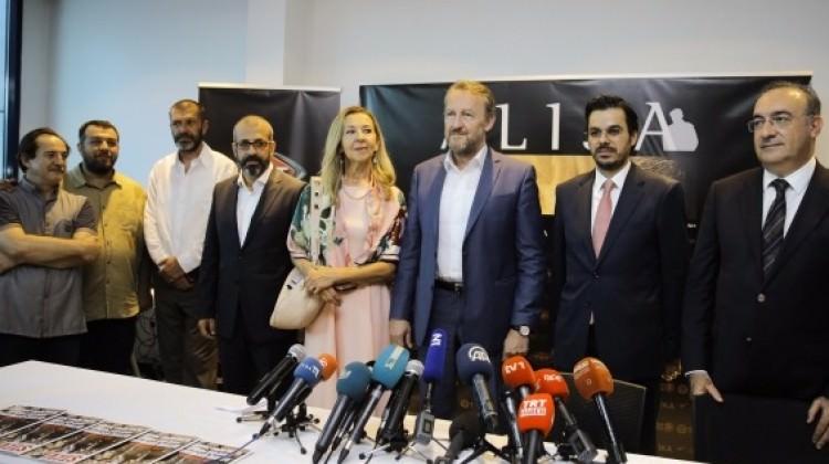 TRT'nin 'Alija' dizisi Saraybosna'da tanıtıldı