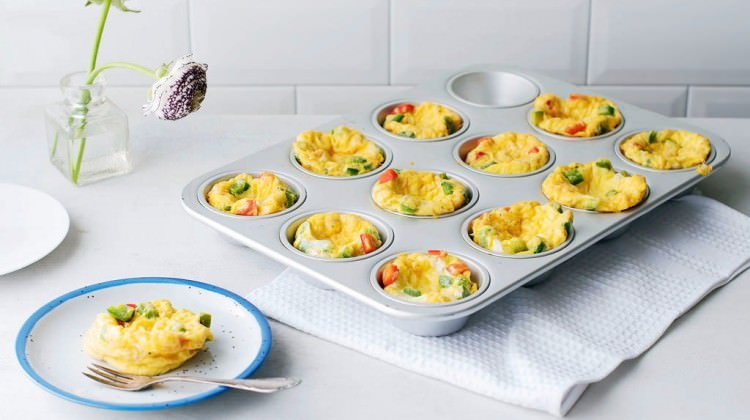 Yumurtalı muffin tarifi