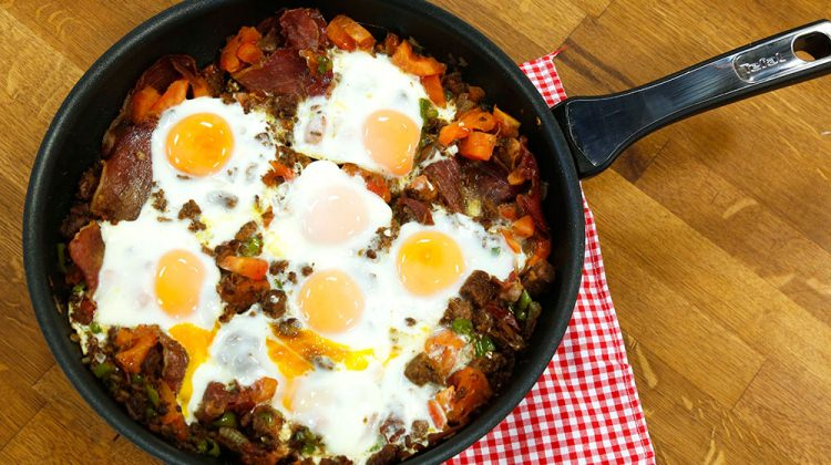 Kahvaltıda kavurmalı yumurta yemeyin!