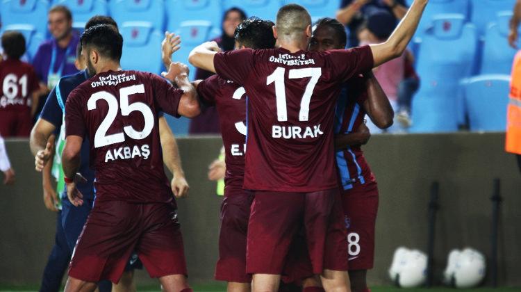 Trabzonspor ikinci yarı fişi çekti!