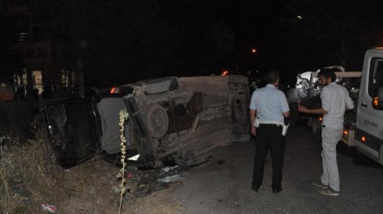 Adıyaman'da kaza: 3 yaralı