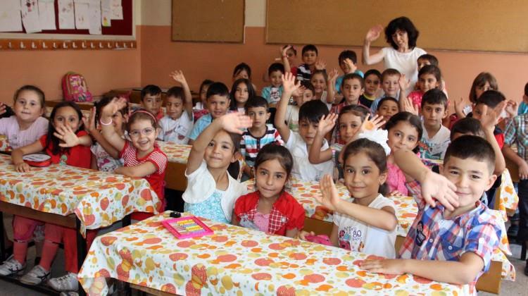 Birinci sınıflar okula başladı!