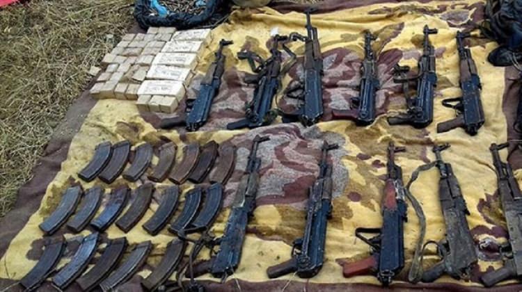 Iğdır'da PKK'ya ait mühimmat imha edildi