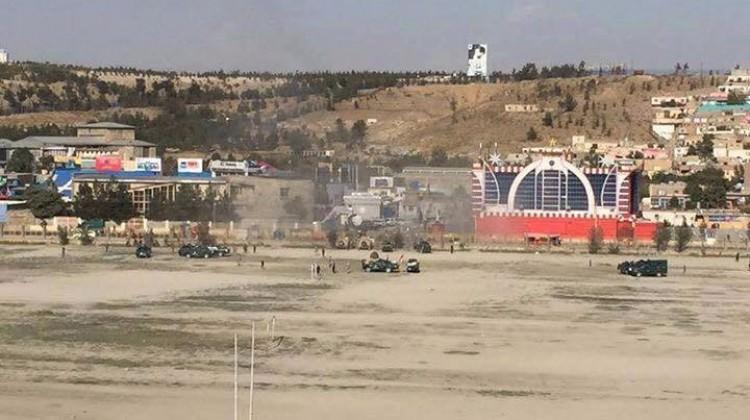 Kabil'de stadyum yakınında patlama! Ölüler var