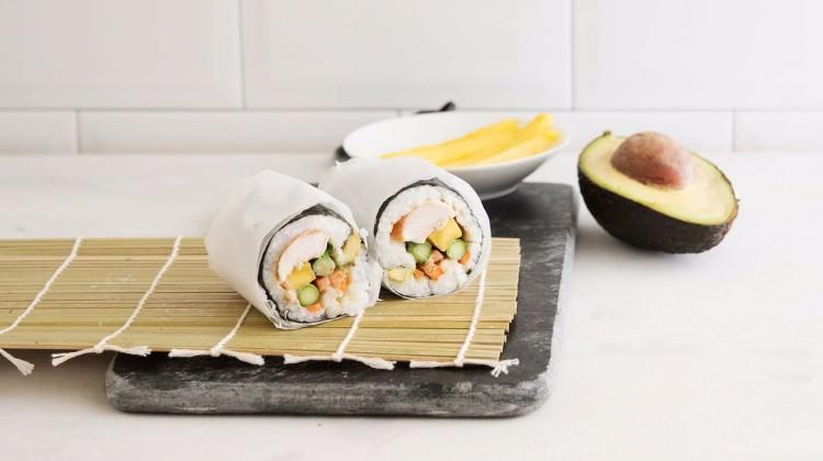 Sushi dürüm tarifi