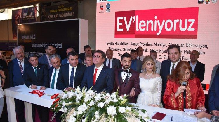 """""""Diyarbakır Ev'leniyoruz Fuarı"""" açıldı"""