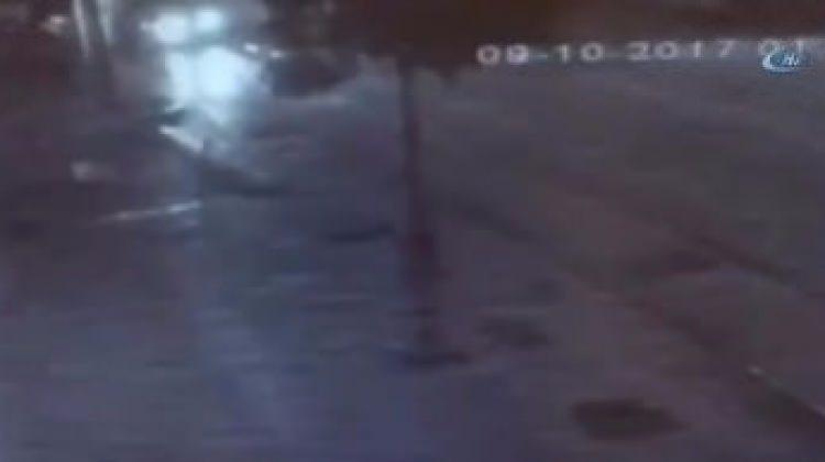 Bursa'daki ölümlü kaza kameraya böyle yansıdı!