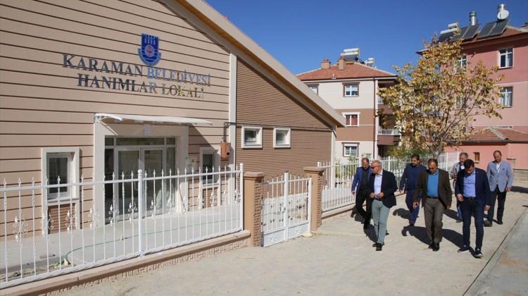 Karaman'da belediye çalışmaları