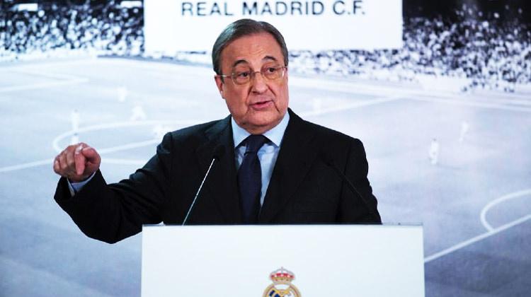 R.Madrid başkanı konuştu: Barca'sız bir La Liga...