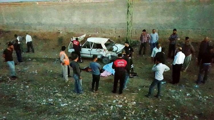 Şanlıurfa'da otomobil devrildi: 1 ölü, 5 yaralı!
