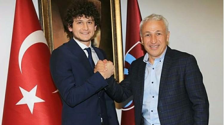 Trabzonspor'dan genç oyuncuya yeni sözleşme