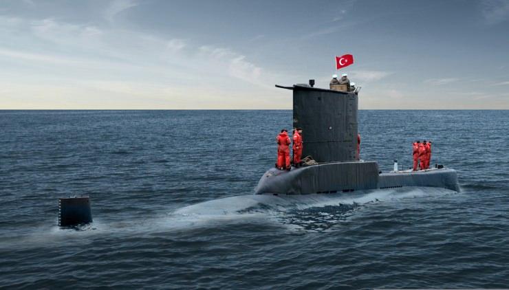 Türkiye 6 tane yerli denizaltı yapıyor! 2