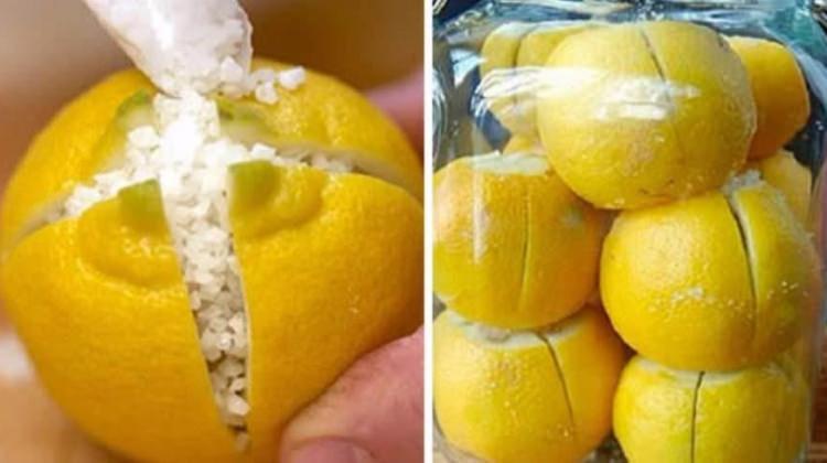 Uyurken yanı başınıza limonu bölüp içine tuz koyun