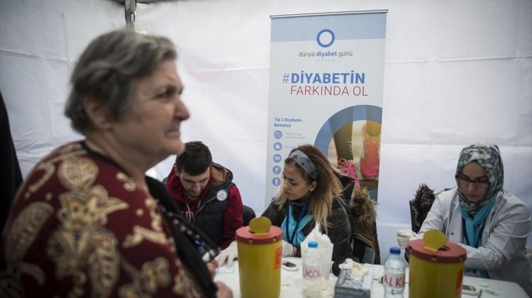 """Ankara haberleri Başkentte """"Dünya Diyabet Günü"""" etkinliği - 12 Kasım 2017"""