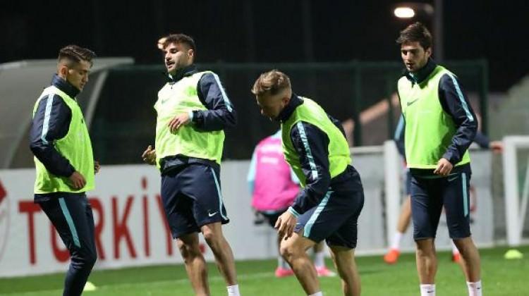 A Milli Futbol Takımı'nda hazırlıklar başladı