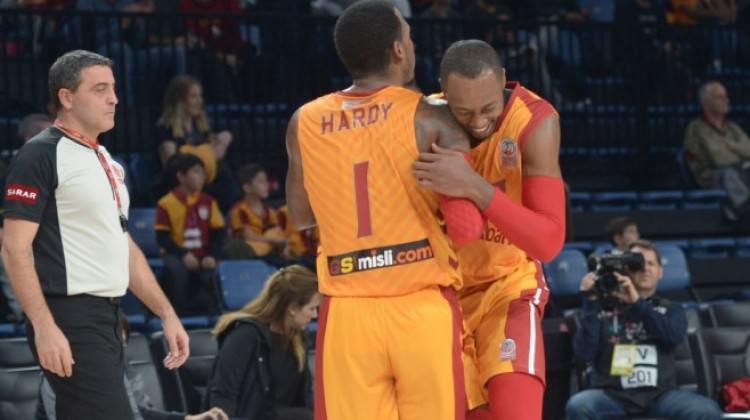 Galatasaray Odeabank'tan farklı galibiyet!